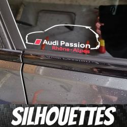 Silhouette Audi