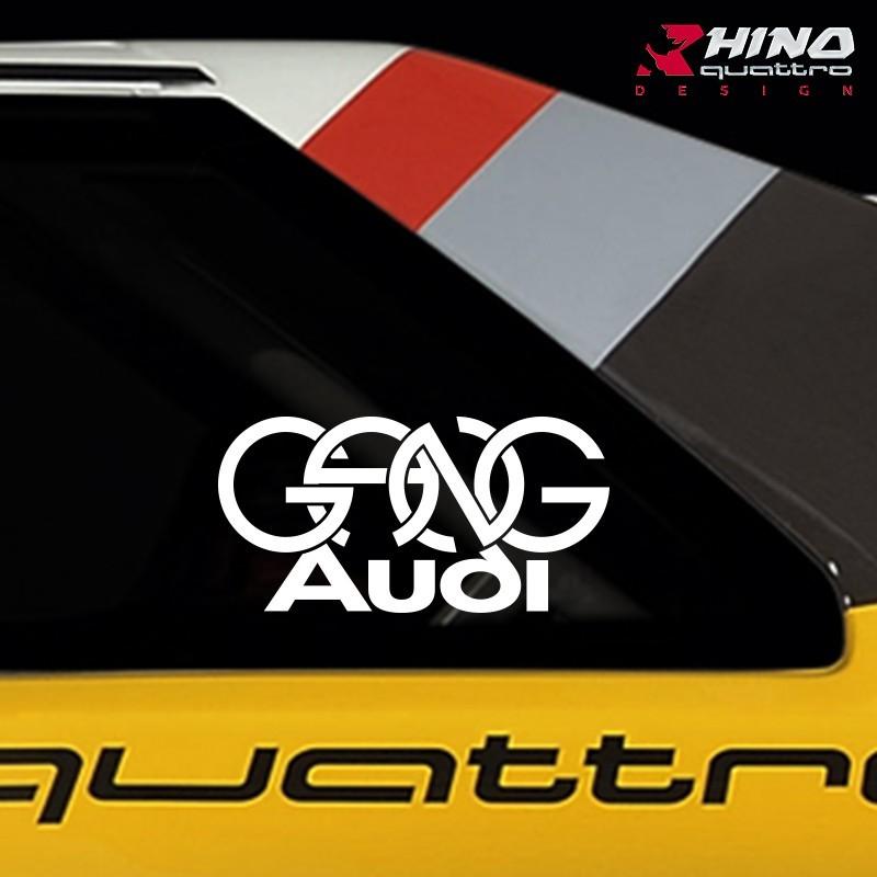 Sticker-GANG-Audi