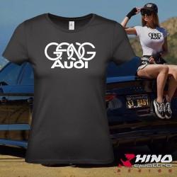 T-Shirt_GANG_Audi_Black_Woman