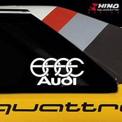 Sticker-BABE-Audi