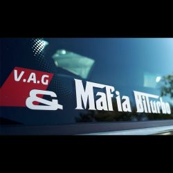 Sticker VAG Mafia Biturbo