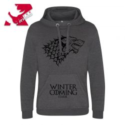 JH101-Charcoal_Game of Thrones - Winter is Coming