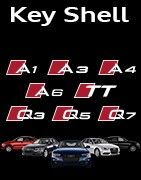 Coques Clés Audi logo Sport