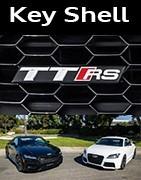 Coques Clés Audi TT RS