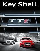 Coques Clés Audi TT S