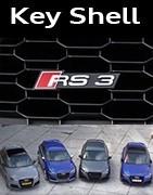 Coques Clés Audi RS3