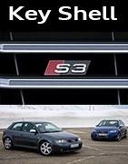 Coques Clés Audi S3
