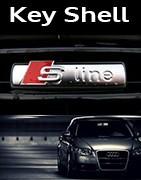 Coques Clés Audi S-line