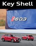 Coques Clés Audi RS Q3