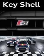 Coques Clés Audi S1